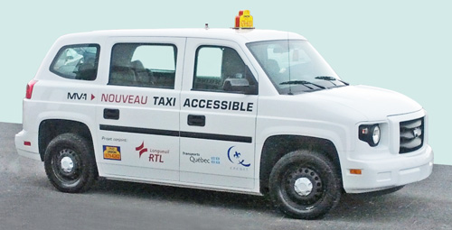 Taxi accessible