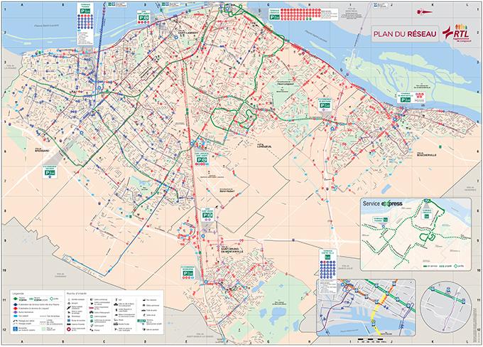 Transit Map - RTL on